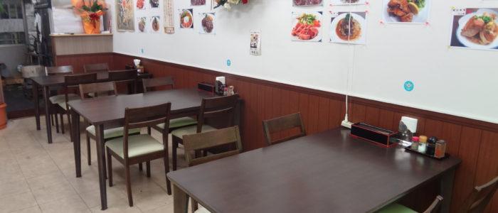 肉食堂内観_テーブル席①